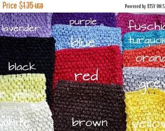 "ON SALE wholesale 6"" crochet tutu top  -YOU Pick color- tutu dress supply,tutu top,stretchy tutu dress top"