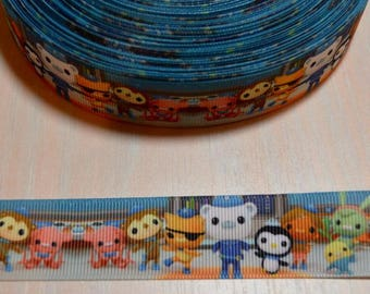 1 inch Grosgrain Ribbon - Octonauts 4
