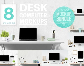 computer mockup, iMac mockup, blog background, styled desk, white desk mockup, stock photo bundle, styled photo