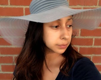 Vintage Floppy Hat.  Hat is light weight. May be decorated. Actual Vintage Hat. Hat. Floppy hat.