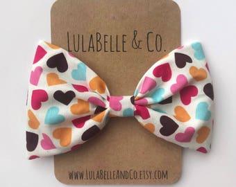 Heartbreaker (Colored Hearts) LulaBelle Bow