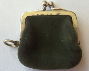 Antique Victorian Tiny Old Miniature Coin Purse