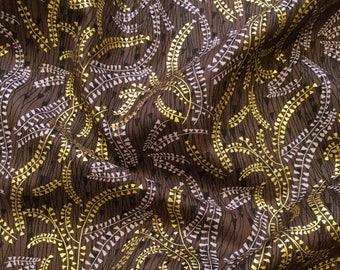 Byzantium Reeds 658 for Makower UK Patchwork, Quilting, Dressmaking Fabric