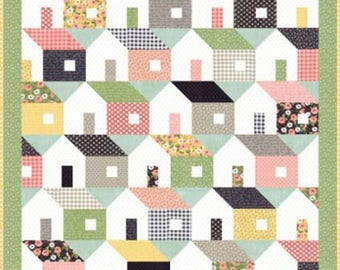 """Farmer's Daughter Quilt Kit - measures approx. 64"""" x 68"""""""