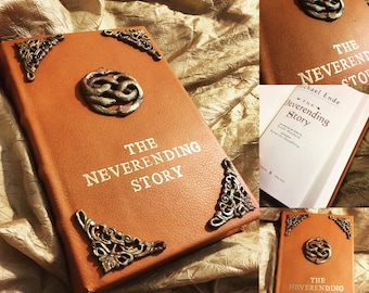 New* Neverending Story Book-Leather bound