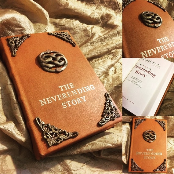 New Neverending Story Book Leather Bound