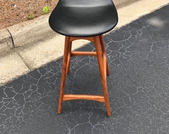 MCM Erik Buch counter height bar stool