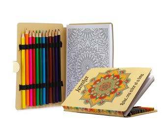 Personalized Relaxation Coloring Book