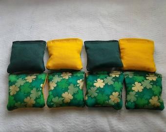 St Patricks Day Mini Cornhole Bag Bean Bag Toss Kids Party Games