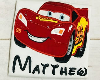 Lightening McQueen Shirt