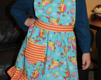 Children's Easter Chick Apron