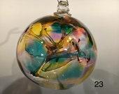 Hand Blown Glass Witch Ball