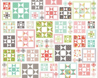 Corey Yoder Coriander Quilts LINE DRIED Quilt Pattern Little Miss Shabby