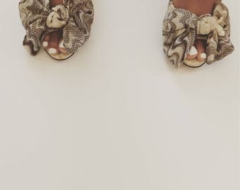 Vintage Missoni Peep Toe Shoe
