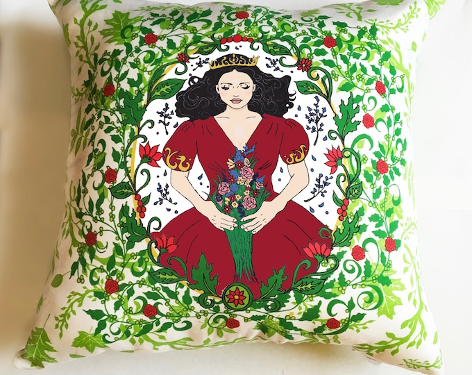 Sleeping Beauty decorative pillow - Option C