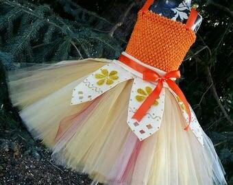 Moana Inspired Tutu Dress (Headband Sold Separately) Moana Dress, Moana Tutu Dress, Moana Outfit, Moana Costume, Moana Birthday