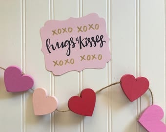 Hugs and Kisses card set    Valentine's Day