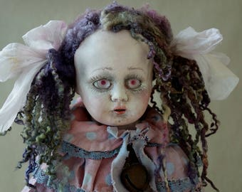 OOAK ART Doll ''Leila ''