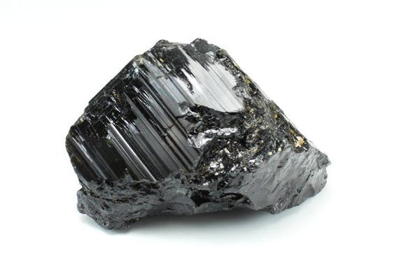 Black Tourmaline, Natural Point, Gemmy, M-1396