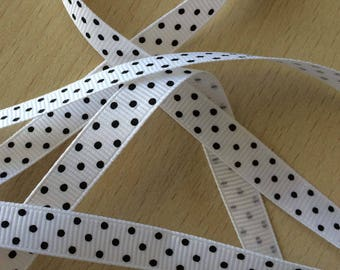 pretty Ribbon grosgrain white 801