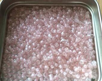 "pretty Pearl ""Miyuki"" color micro-ball pink pale tosca"