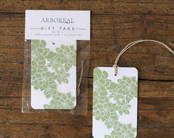 Green and White Gift Tags (original retail 6.50)