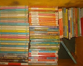 Set of 76 Enid Blyton Paperback Books