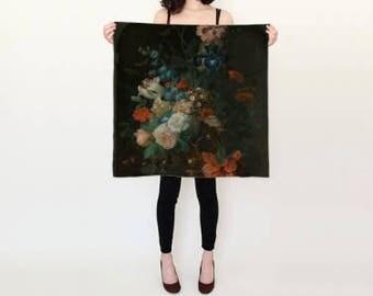 Silk Scarf Flowers