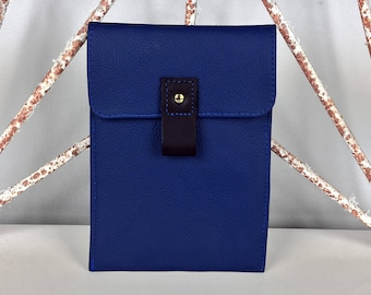 Blue Leather Kindle Paperwhite Case