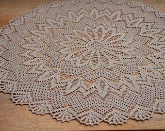 Crochet doily, 58 cm