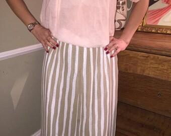 Vintage 1970's FINK MODELL Skirt  - UK 12