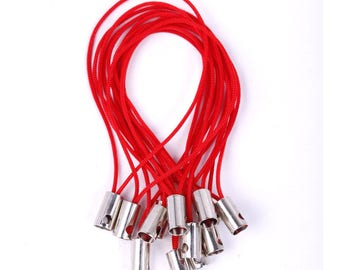 X 10 portable 50mm red cord