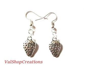 Woodland Strawberry earrings