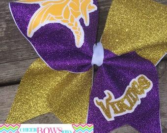 Minnesota Vikings Cheer bow