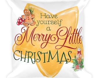 Christmas Decorations, Christmas Decorations Rustic, Christmas Decorations Pillows, Decorative Pillows, Decorative Pillows Christmas, 18x18