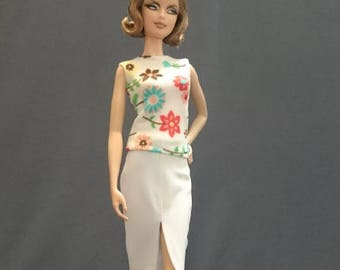 Tops for Barbie,Muse barbie,Tall barbie, FR, Silkstone -No. 0502