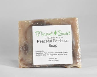 Peaceful Patchouli soap