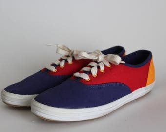 Vintage Primary Colored Classic Keds