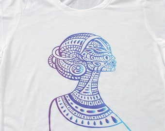 Medium African Woman T Shirt