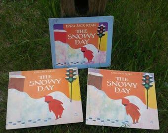 1963/1966 The Snowy Day Ezra Jack Keats 3 Book Lot
