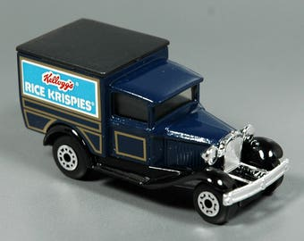 Vintage Kelloggs Matchbox Advertisement Ford Model A Diecast Truck | Vintage Toys