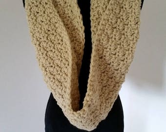 ON SALE Hooded Scarf - Infinity Scarf, Scarves for Women, Gift for Her Crochet Hood Scarf, Bulky Scarf, Chunky Scarf, Winter Scarf