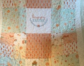 Easter quilt - perfect for couch throw or lap quilt!
