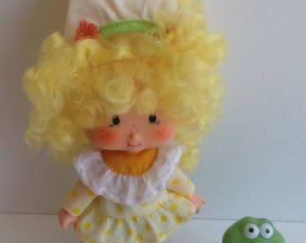 LEMON MERINGUE w/ Frappe Vintage Strawberry Shortcake Doll