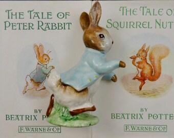 Vintage Peter Rabbit Beswick Figurine
