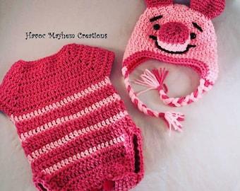 "Baby Winnie the Pooh ""Piglet"" Costume."