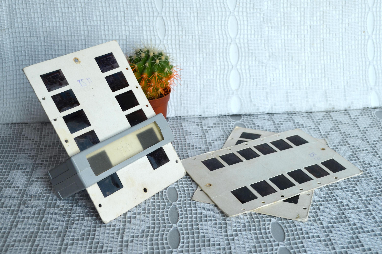 visionneuse de diapositive portable vintage projecteur de. Black Bedroom Furniture Sets. Home Design Ideas