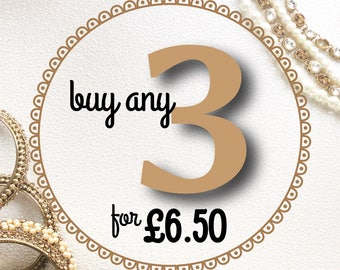 Buy any 3 cards - Special Offer, Any 3 individual cards together for a discount, Greeting cards assortment, Multibuy, Mix and Match