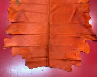 Natural Cowhide Leather Rug