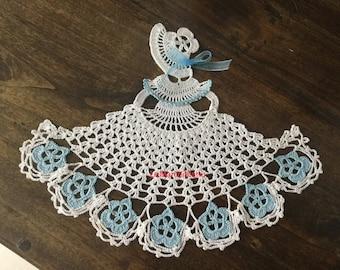 Crochet dolls to frame-crochet dolls